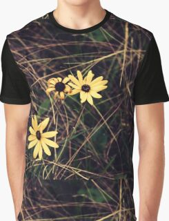 Lonely Flowers Graphic T-Shirt