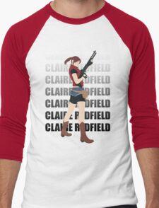 Claire Redfield Resident Evil 2 Men's Baseball ¾ T-Shirt