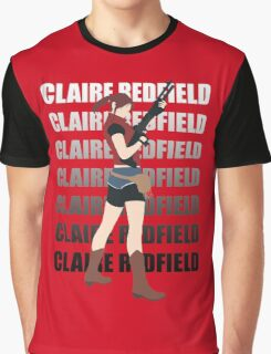 Claire Redfield Resident Evil 2 Graphic T-Shirt