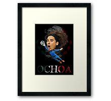 Guillermo Ochoa Framed Print