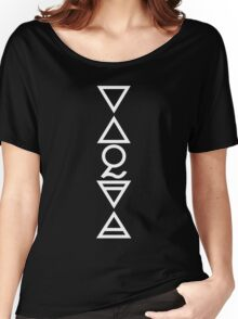 FOUR ELEMENTS PLUS ONE V  - solid white Women's Relaxed Fit T-Shirt