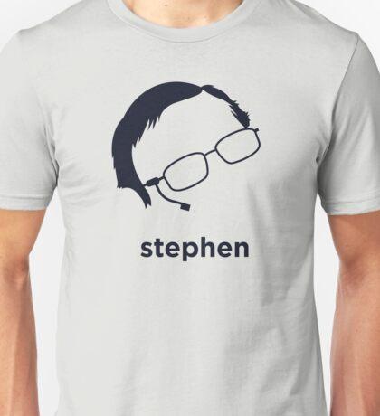 Stephen Hawking (Hirsute History) Unisex T-Shirt