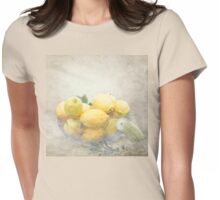 Banksia and Lemons Womens Fitted T-Shirt