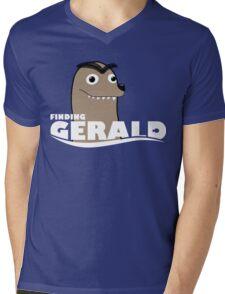 Finding Gerald Mens V-Neck T-Shirt