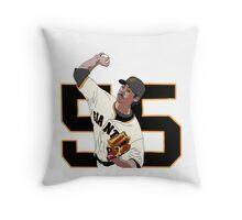 Tim Lincecum Throw Pillow
