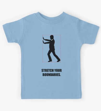 Stretch Your Boundaries - Business Quotes Kids Tee
