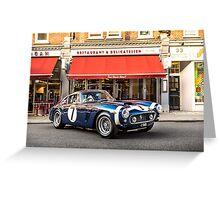 Ferrari 250 SWB Stirling Moss Greeting Card