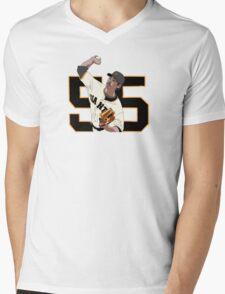 Tim Lincecum Mens V-Neck T-Shirt