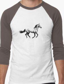 The World Of Horses Men's Baseball ¾ T-Shirt