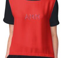 Ann Chiffon Top