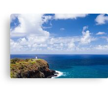 Kilauea Lighthouse in Kauai, Hawaii Canvas Print