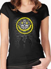 Sherlock Smiley Women's Fitted Scoop T-Shirt