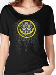 Sherlock Smiley Women's Relaxed Fit T-Shirt