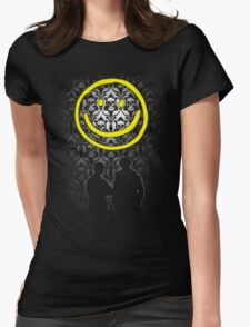 Sherlock Smiley Womens Fitted T-Shirt