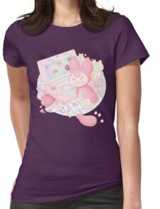 Pastel Skitty Womens Fitted T-Shirt
