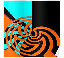 Abstract Web Poster