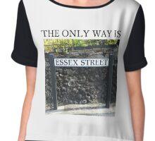 TOWIE STREET Essex Chiffon Top