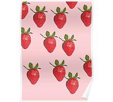 Strawberry Cream Poster