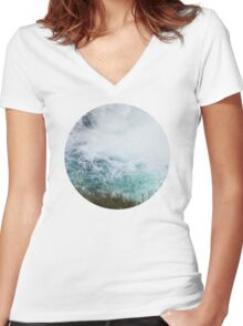 Ice cold Women's Fitted V-Neck T-Shirt