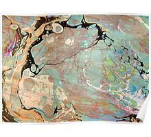 Abstract Painting ; Milky Way Poster