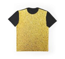 Sunshine Glittery Golden Sparkle Graphic T-Shirt