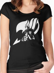 White Dragon Slayer Women's Fitted Scoop T-Shirt