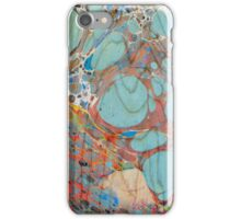 Abstract Painting ; Turquoise iPhone Case/Skin
