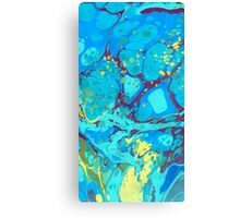 Abstract Painting ; Waterfall Canvas Print