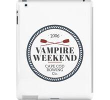 Vampire Weekend // Cape cod rowing iPad Case/Skin