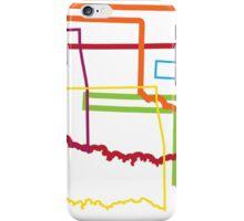 oklahoma pride blur iPhone Case/Skin
