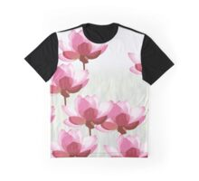 The Eight Little Pink Flowers Graphic T-Shirt