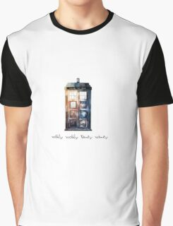 Doctor Who Tardis Graphic T-Shirt