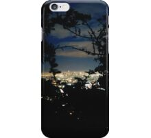 LA at night iPhone Case/Skin
