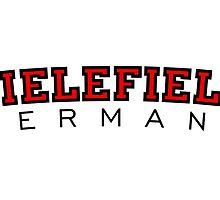 Bielefield Germany Bielefeld Design (Schwarz/Rot) by theshirtshops