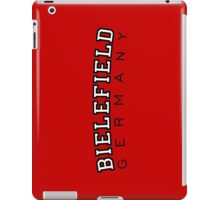 Bielefield Germany Bielefeld Design (Schwarz/Weiß) iPad Case/Skin
