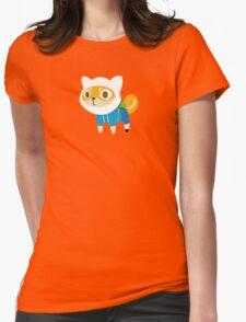 Shiba Finn Womens Fitted T-Shirt