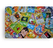 Pokemon Cards Canvas Print