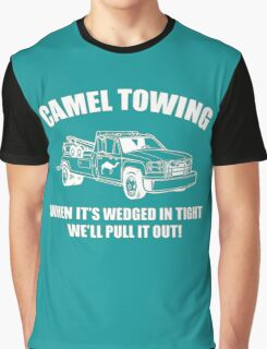 Camel-Towing Graphic T-Shirt