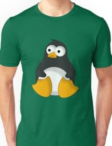 Penguin cartoon drawing Unisex T-Shirt