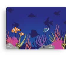 Inspired by Finding Nemo/Dory Canvas Print