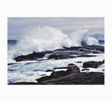 Ferocious Ocean -- Peggy's Cove, Nova Scotia One Piece - Short Sleeve