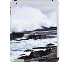 Ferocious Ocean -- Peggy's Cove, Nova Scotia iPad Case/Skin
