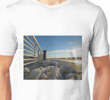 Long Beach, NY Sun Rise on Riverside Blvd                   6862 Unisex T-Shirt
