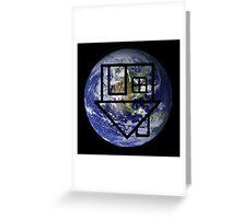 One World The Neighborhood Greeting Card