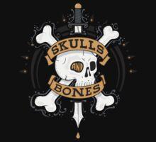 SKULLS AND BONES One Piece - Short Sleeve