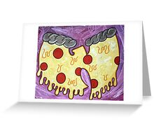 Pizza Rules Everything Around Me Greeting Card