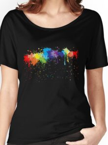 Nice paint splash Women's Relaxed Fit T-Shirt