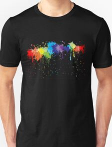 Nice paint splash Unisex T-Shirt