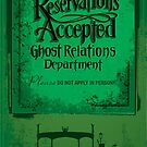Reservations Accepted design by Topher Adam by TopherAdam