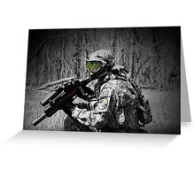 Paintballer Greeting Card